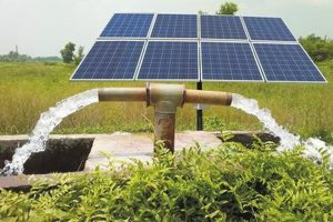 Solar Submersible (Ac) Water Pump